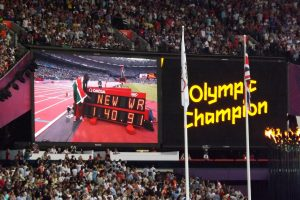 David Rudisha breaks the 800m World Record